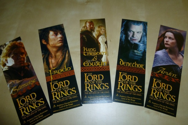 Lord of the Rings Bookmarks (1)
