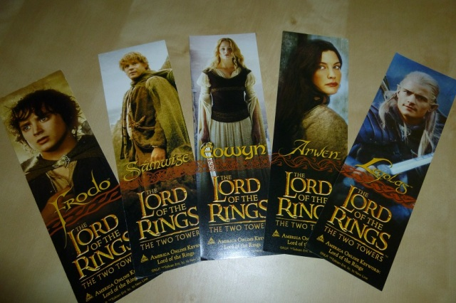 Lord of the Rings Bookmarks (2)