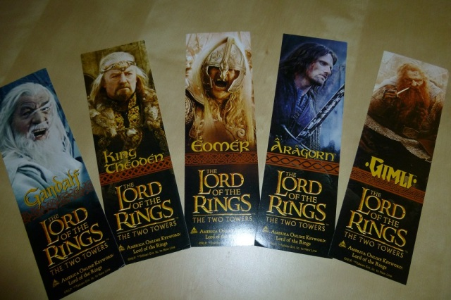 Lord of the Rings Bookmarks (3)