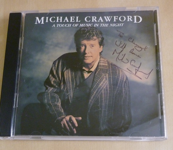 Michael Crawford Autograph