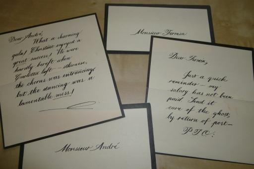 Phantom's Letters (1)