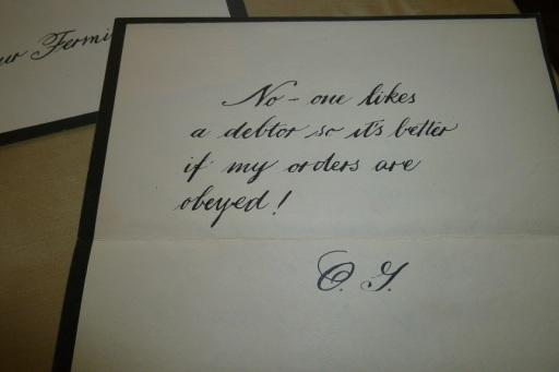 Phantom's Letters (2)