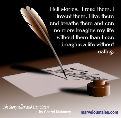 I tell stories