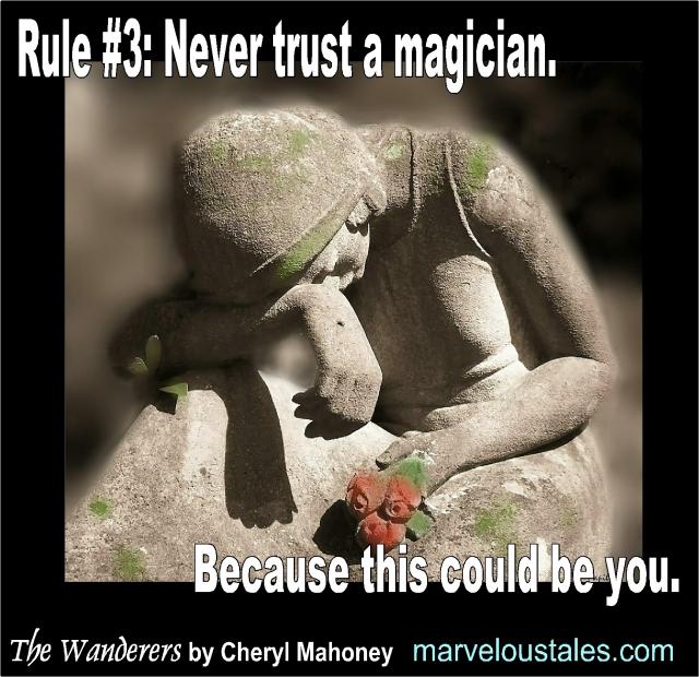 Never trust a magician