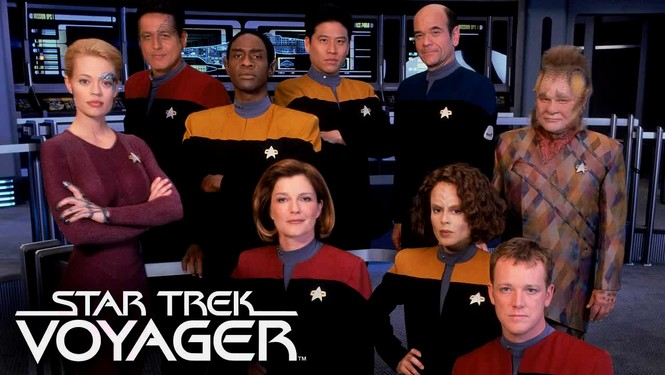 Image result for star trek voyager crew
